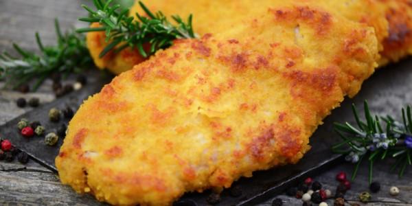 Geflügel-Schnitzelchen Platte