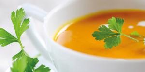 Suppe vom Hokkaidokürbis