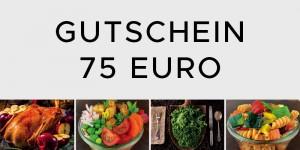 Gutschein 75 Euro