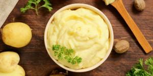 Kartoffelstampf von Kartoffeln aus dem Teufelsmoor – vegan