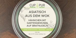 Asiatisch aus dem Wok – CUPPUR-Bowl