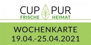 19.04.–25.04.2021 · PDF DRUCK · Wochenkarte