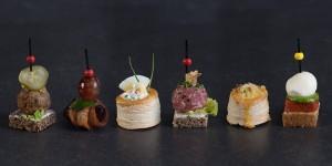 Finger- und Glasfood-Buffet Rustik