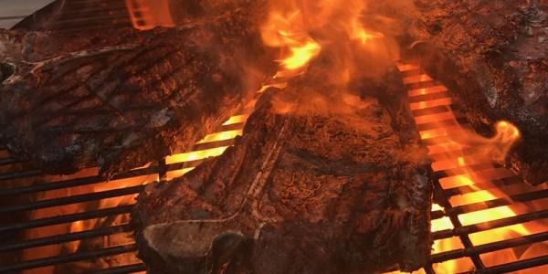 Grillbuffet: Des Grillers Freude